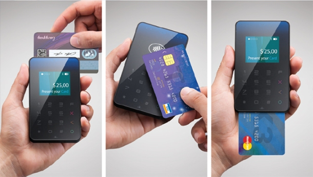 Merchant's New Wallet, Mobile Chip & PIN Reader