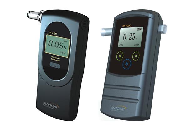 Digital-breathalyzer