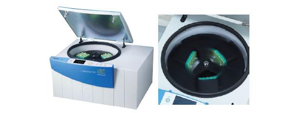 Automatic-balancing-centrifuge
