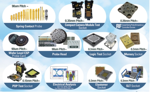 Semiconductor Test Inc : The largest semiconductor test probe korean electronics