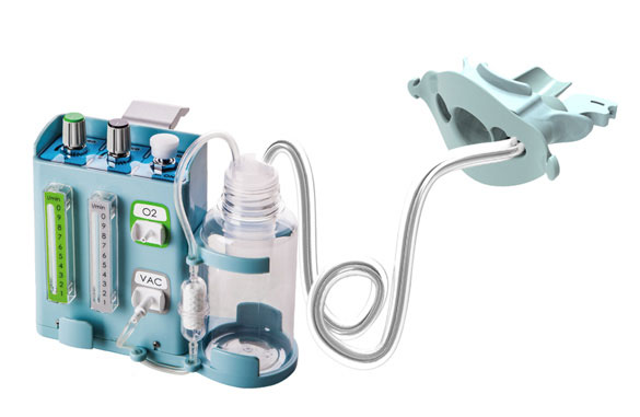 Endoscopic Oxygen Vacuum Controller & Endopiece