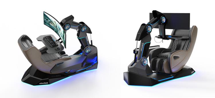 Ergonomic Smart Moving Desk