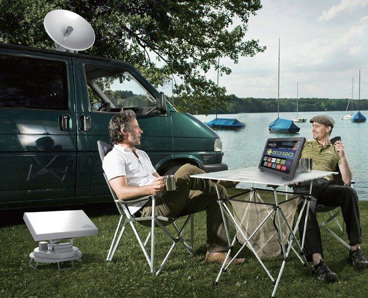 Camping Satellite Auto Tracking Antenna