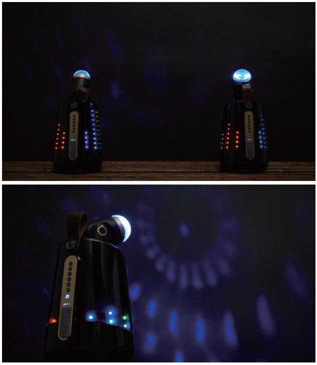Modular Moving Light Speaker